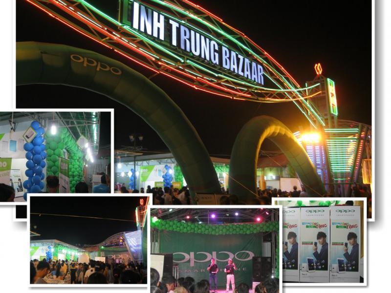 Chợ đêm Linh Trung, nơi tụ họp của hàng trăm gian hàng thời trang cho bạn thỏa sức mua sắm