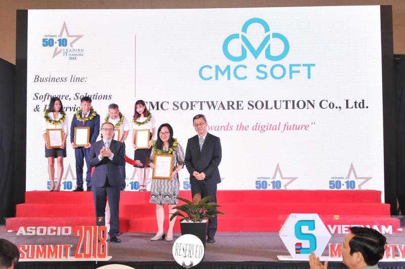 Công ty TNHH Giải pháp Phần mềm CMC