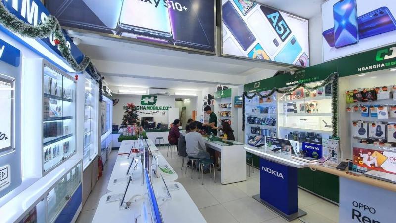 Cửa hàng ĐTDĐ Hoàng Hà Mobile