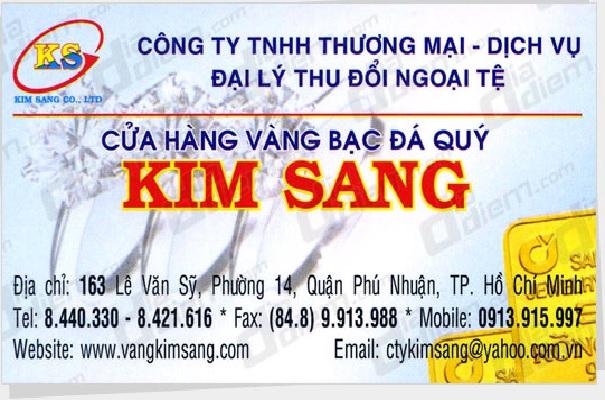 Cửa Hàng Vàng Bạc Kim Sang