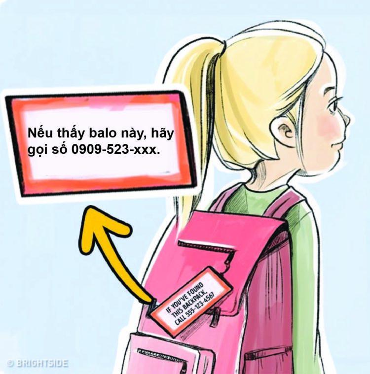 Dạy trẻ không tiết lộ tên bé (ảnh minh họa)