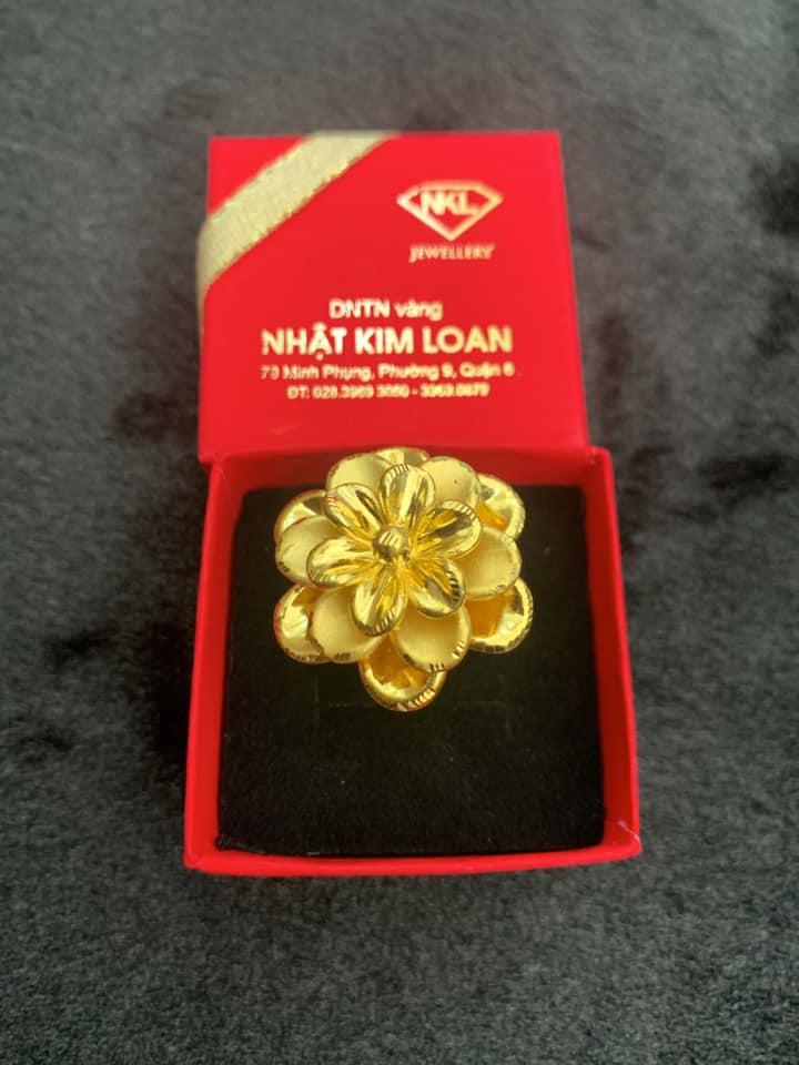 Mẫu sản phẩm tại DNTN kinh doanh vàng Nhật Kim Loan