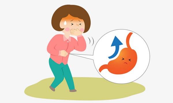 Làm giảm chứng đau, tắc nghẽn dạ dày