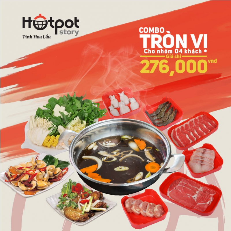 Hotpot Story - Buffet Lẩu