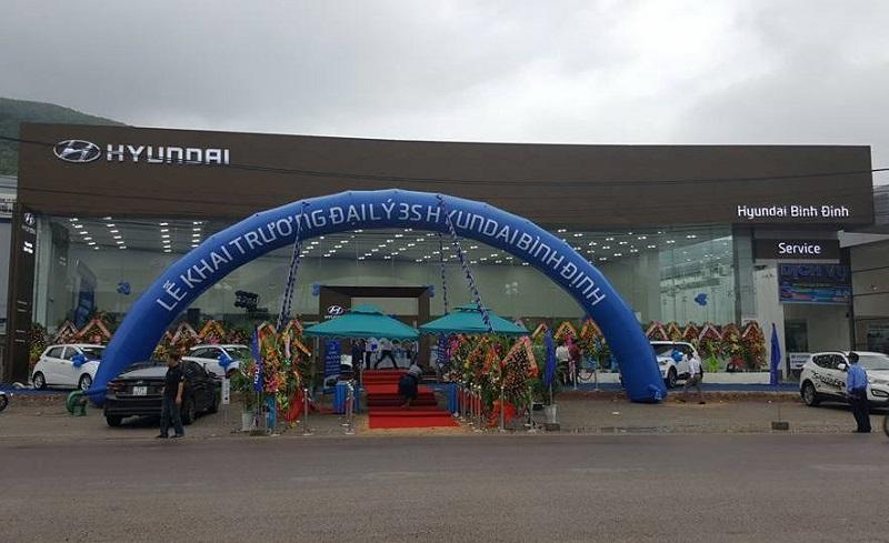 Đại lý Hyundai Bình Định