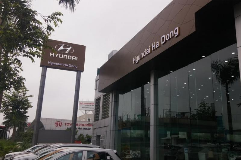 Showroom Hyundai Hà Đông