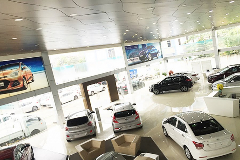 Showroom Hyundai Việt Trì