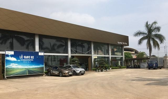 Showroom Hyundai Vĩnh Yên