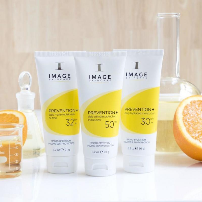 Ba dòng kem chống nắng Image Prevention+ Daily rất được ưa thích trên thị trường