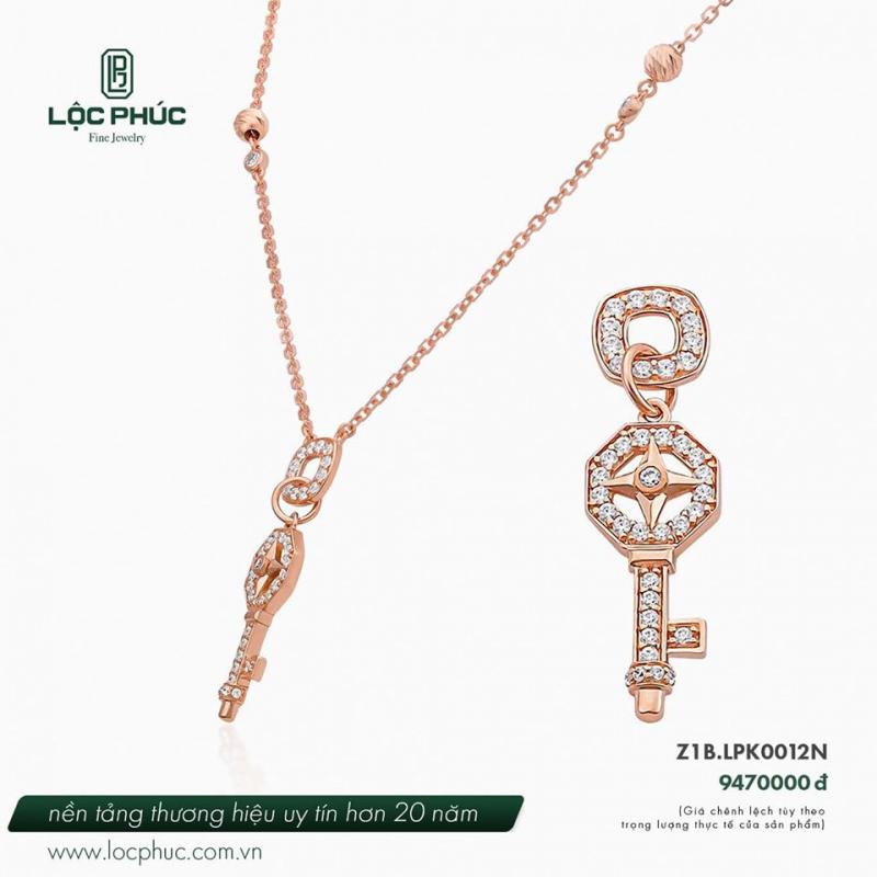 Bộ nữ trang tại Phúc Lộc Jewelry