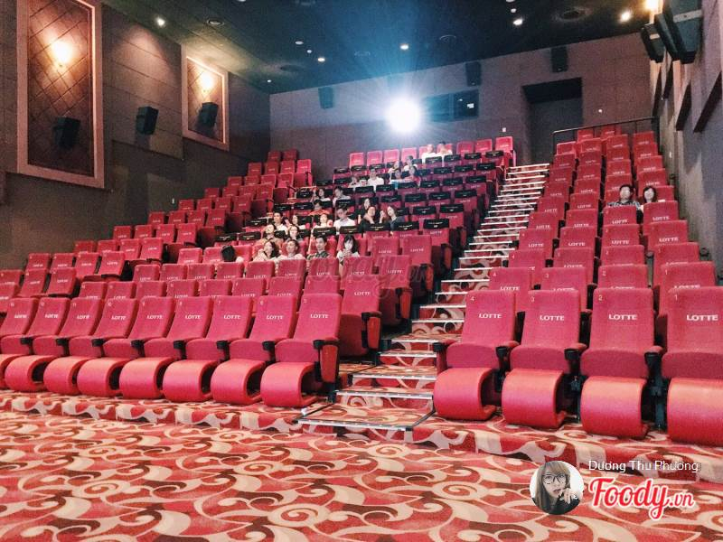 rạp chiếu phim Lotte Cinema Landmark