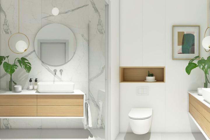 Mẫu thiết kế nhà tắm đẹp, đơn giản