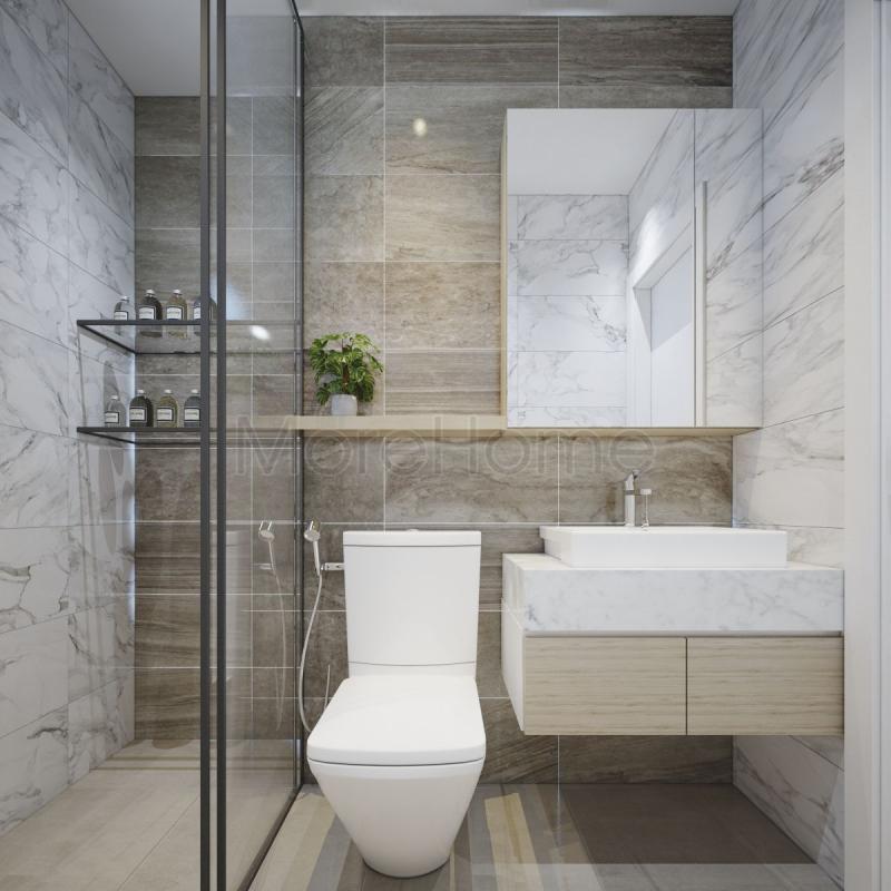 Mẫu thiết kế nhà tắm với diện tích nhỏ