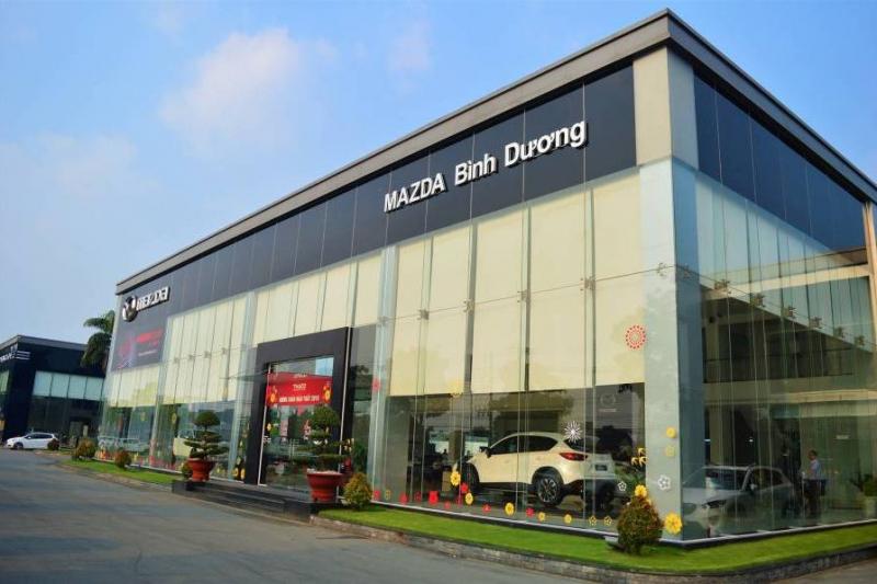Showroom Mazda Bình Dương