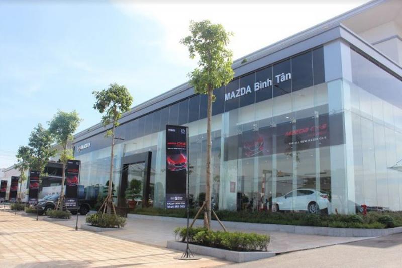 Showroom Mazda Bình Tân