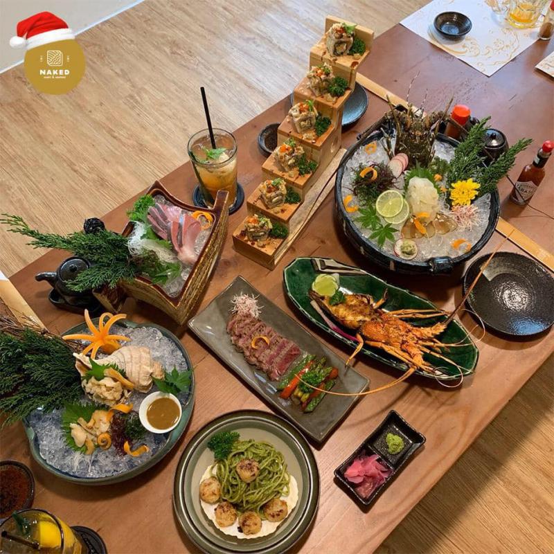 Chất lượng sushi tại Naked Sushi & Sashimi đã được khách hàng công nhận suốt nhiều năm qua.