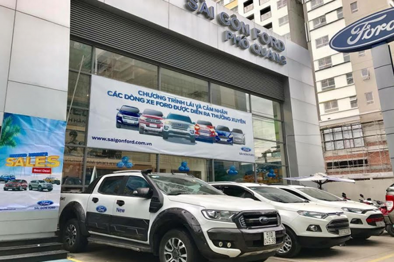 Showroom Ford Phổ Quang