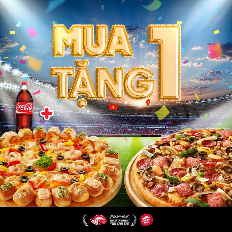 Pizza Hut là một thương hiệu pizza được nhiều thực khách ưa chuộng và phủ sóng rộng rãi tại Sài Gòn