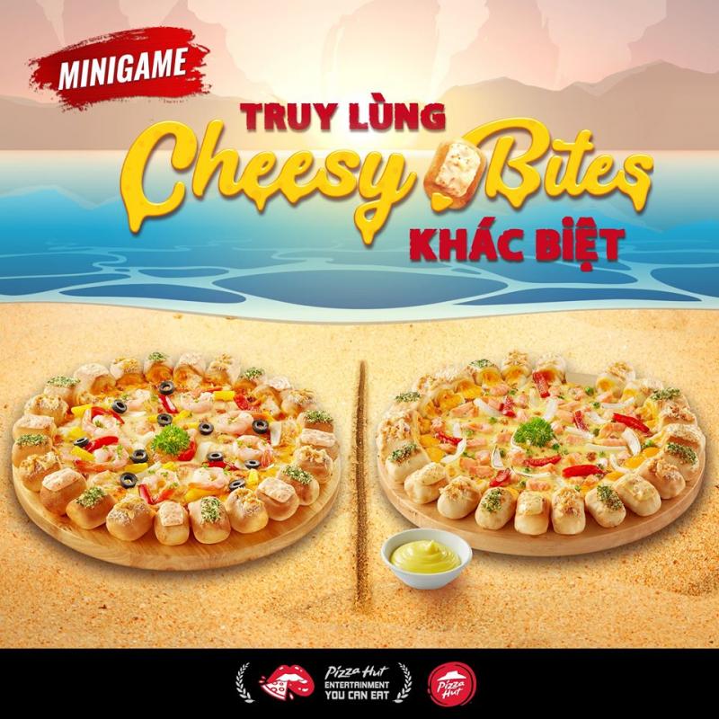 Đối với pizza mang về, bánh cũng được đóng hộp cẩn thận và có ưu đãi mua 1 tặng 1 thường xuyên.
