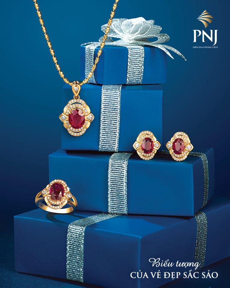Sản phẩm của cửa hàng vàng bạc PNJ