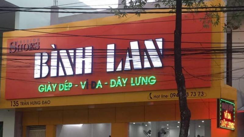 Cửa hàng giày dép Bình Lan