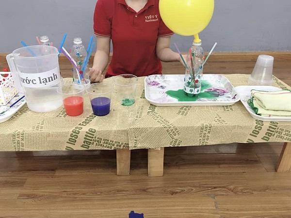 Thí nghiệm tạo vòi phun nước