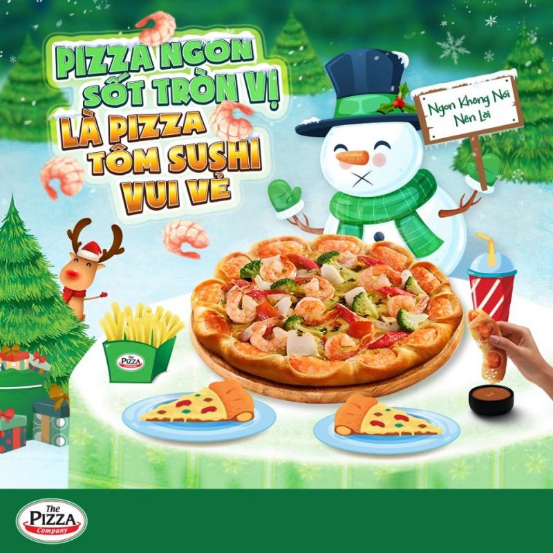 The Pizza Company nổi tiếng chất lượng thơm ngon nên thu hút rất nhiều khách hàng, đặc biệt là vào buổi tối, cuối tuần.
