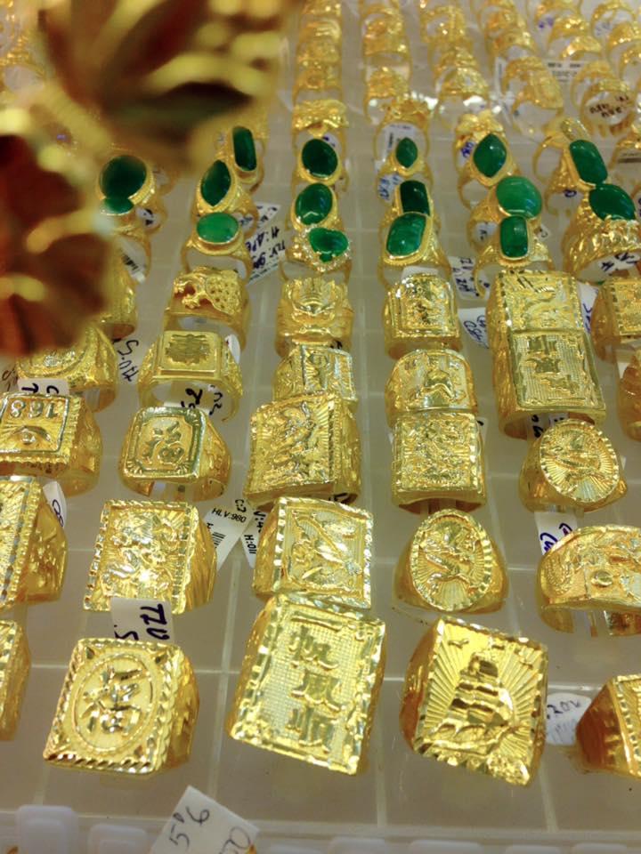 Mẫu nhẫn tại Tiệm vàng Đức Hạnh