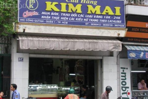 Hình ảnh tiệm vàng Kim Mai