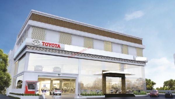 Showroom Toyota Thái Bình