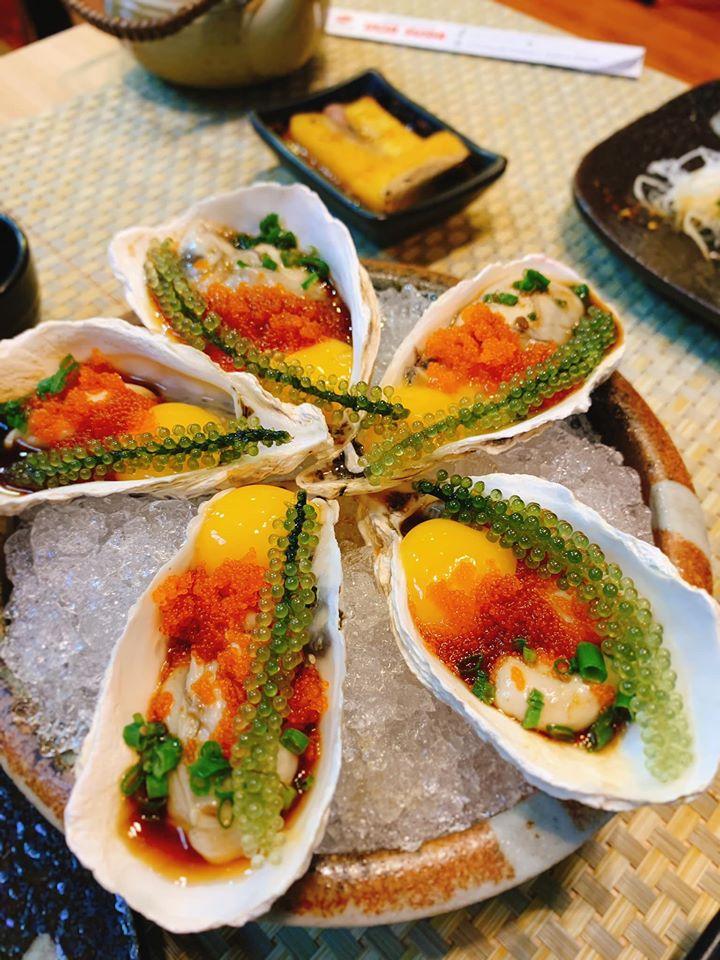 Đồ ăn tại Uchi Sushi