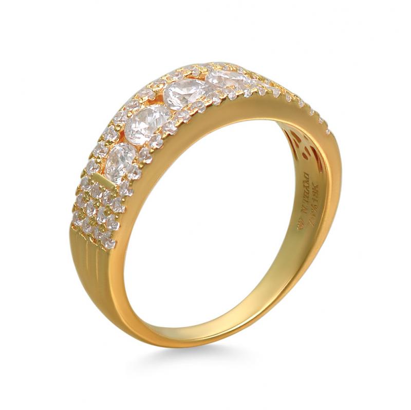 Nhẫn vàng 18k tại vàng bạc đá quý Ngọc Thẫm