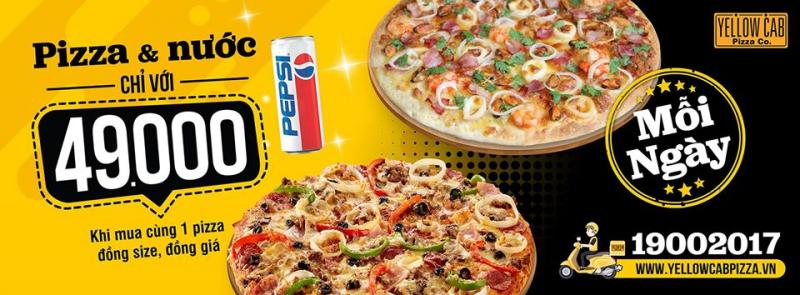 Yellow Cab Pizza - Hồng Bàng